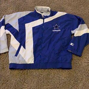 Vintage NFL Dallas Cowboys Starter zip up jacket